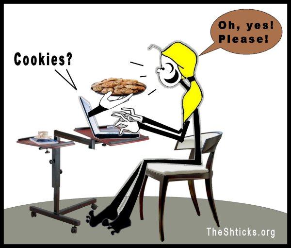 Cookies 3 The Shticks