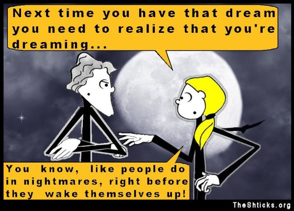 I have a recurring dream 9 The Shticks